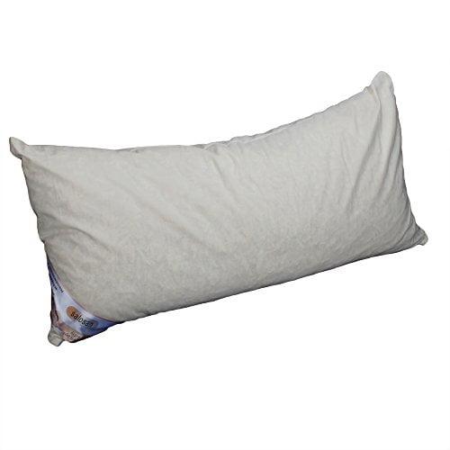 Hilfe bei Schlafstörungen, Wetterfühligkeit und Kopfschmerzen. Zirbenkissen 80 x 40 cm, deutsche Handarbeit, Kopfkissen + GRATIS Außenbezug - 1