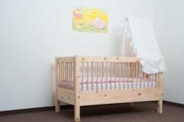 Zirbenholz-Kinderbett