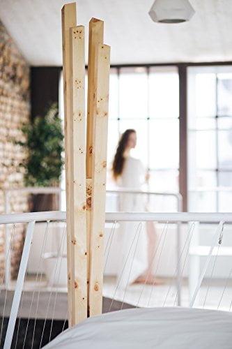 ZirbenLüfter CLASSIC, natürlicher Luftbefeuchter / Luftreiniger aus Zirbe / Zirbenholz. - Räume bis 60 m2 -