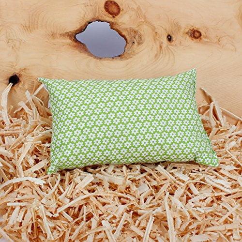 Grünes Zirbenkissen