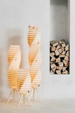Bild zeigt Zirbenlüfter Lamp Helix2