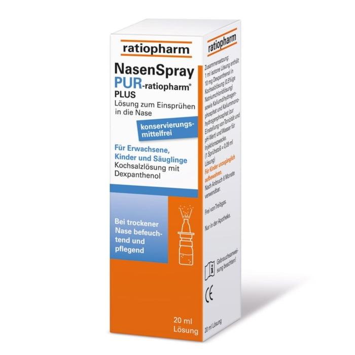Nasenspray pur Ratiopharm plus