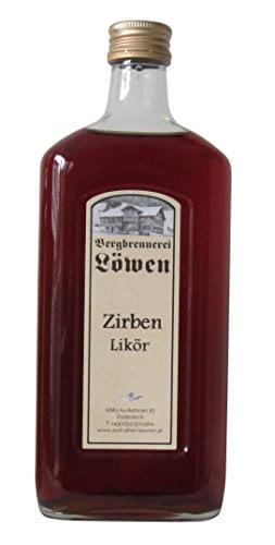 Flasche Zirben-Likör