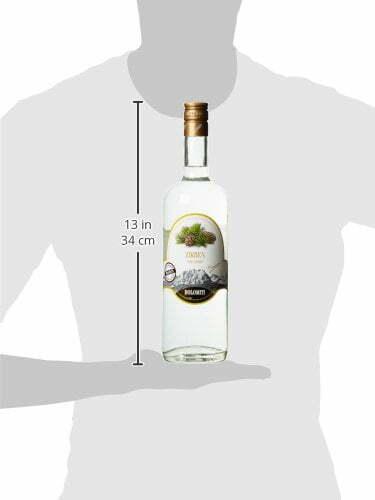 DOLOMITI Zirben-Schnaps Premium Spirituose 40% vol.   Original Zirbenschnaps   1 x 1 Liter - 3