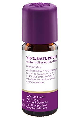TAOASIS Zirbenöl Bio, 100% naturreines ätherisches Zirbe Öl aus Österreich - 3