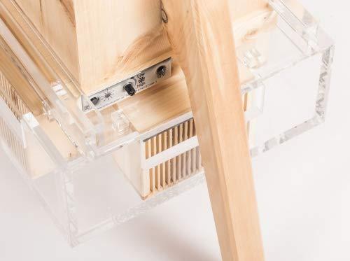 ZirbenLüfter ® CLASSIC für 60 m2, natürlicher Luftbefeuchter und Luftreiniger - 3