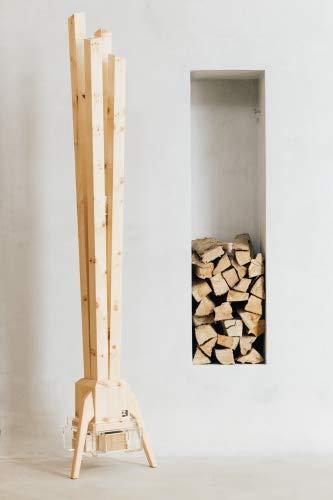 ZirbenLüfter ® CLASSIC für 60 m2, natürlicher Luftbefeuchter und Luftreiniger - 4