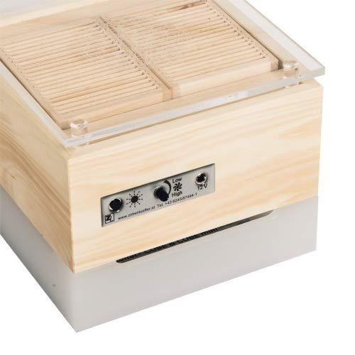 ZirbenLüfter ® Cube Mini cristall für 15 m2, natürlicher Luftbefeuchter und Luftreiniger - 2