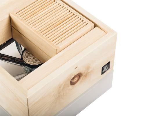 ZirbenLüfter ® Cube Mini cristall für 15 m2, natürlicher Luftbefeuchter und Luftreiniger - 3