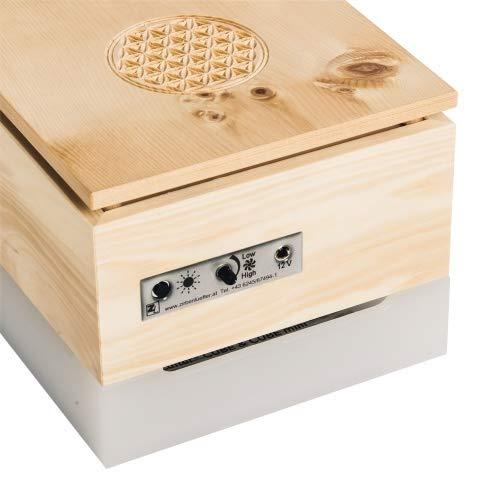 ZirbenLüfter ® Cube Mini Pure für 15 m2, natürlicher Luftbefeucher und Luftreiniger - 2