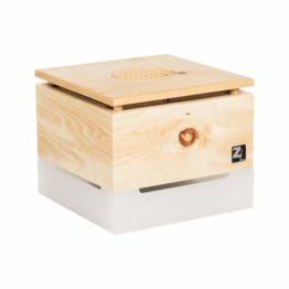 ZirbenLüfter ® Cube Mini Pure für 15 m2, natürlicher Luftbefeucher und Luftreiniger - 1