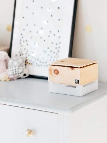 ZirbenLüfter ® Cube Mini Pure für 15 m2, natürlicher Luftbefeucher und Luftreiniger - 5