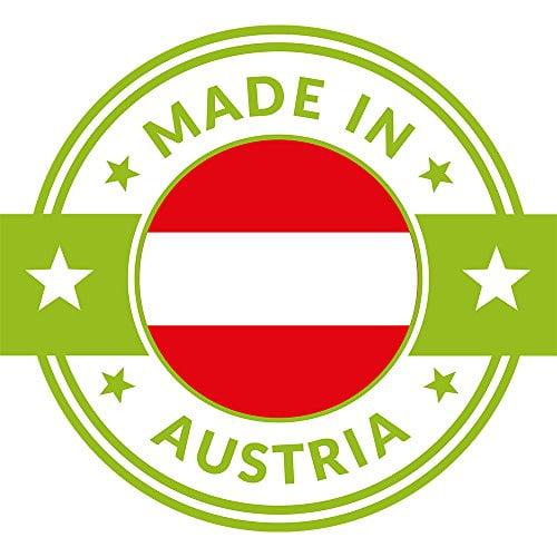 4betterdays.com NATURlich leben! Hochwertige Brotdose aus massivem Zirbenholz - Brotkasten mit abnehmbarem Deckel - 35x25x15,8 cm (LxBxH) - plastikfrei & nachhaltig - Handarbeit aus Österreich - 8