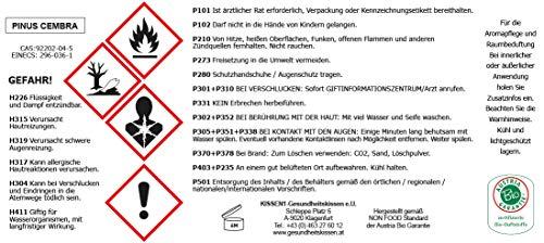 Gesundheitskissen.at Bio Zirbenkissen (22x34cm) + Bio Zirbenöl (10ml) + ZirbenWürfel inkl. 10g Zirbenspäne - 7