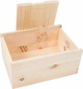 Tiroler Zirbenkissen Zirbenbrotbox 35 cm x 24 cm x 15 cm - 1