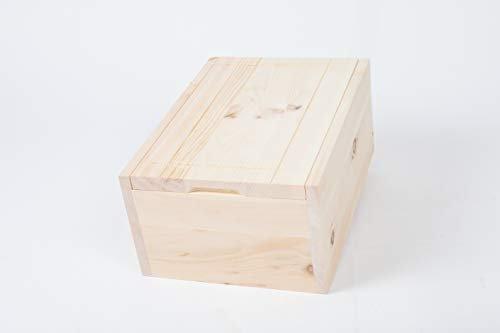 Tiroler Zirbenkissen Zirbenbrotbox 35 cm x 24 cm x 15 cm - 2