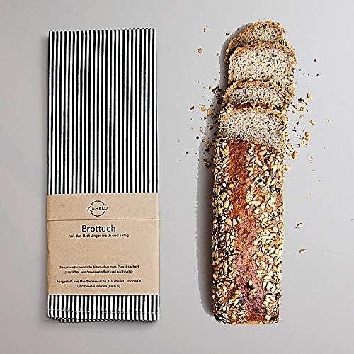 Zirben Brotkasten/Brotdose aus 100% Zirbenholz inkl. Bienenwachstuch - mit herausnehmbarem Zirbenholz-Gitter - Maße: 45 x 16 x 25 cm - Handgemacht in Österreich - 6