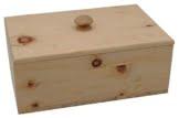 JOWE® Brotdose aus Zirbe | Zirbenbrotdose | Brotkasten aus Zirbenholz | Rechteckig mit Schwalbenschwanzverbindung - 1